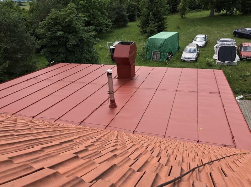 Střechy Petena - Nátěry